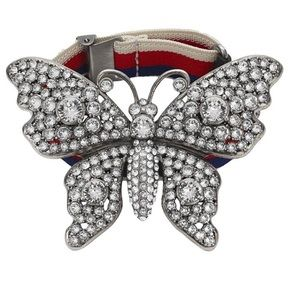 Giant gucci butterfly statement bracelet